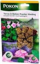 Plantenvoeding Pokon terras en balkon Voedingskegels