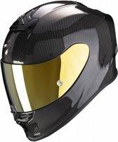 Scorpion EXO-R1 CARBON AIR SOLID Zwart Integraalhelm - Motorhelm - Maat S