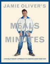 Boekomslag van 'Jamie Oliver's Meals in Minutes'