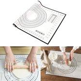 KitchenBrothers Siliconen Glasvezel Deegmat - Bakmat – 60 x 40 cm