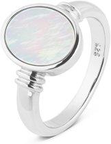 Parte Di Me 925 Sterling Zilveren La Sirena Idice Ring  (Maat: 56) - Wit,Zilver