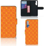 Honor 20 Telefoon Hoesje Batik Orange