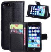 iPhone 5C Portemonnee Hoesje Case Zwart
