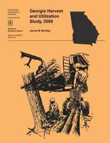 Georgia Harvest and Utilization Study, 2009