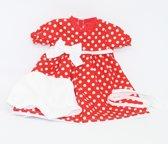 Paola Reina Poppenkleding Kledingset Virgi Rood