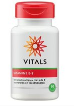 Vitals Vitamine E-8  Voedingssupplementen - 60 softgels