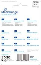 MediaRange 64GB SDXC flashgeheugen Klasse 10