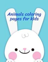 Animals Coloring Pages for Kids: coloring pages for adults relaxation with funny images to Relief Stress