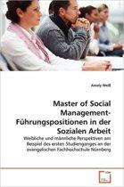 Master of Social Management-Fuhrungspositionen in Der Sozialen Arbeit