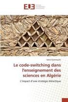 Le Code-Switching Dans Lenseignement Des Sciences En Algerie