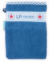 Lief! Lifestyle Washandje - Donker Blauw - 16 x 21