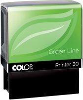 4x Colop stempel Green Line Printer Printer 30, max. 5 regels, voor Nederland, ft. 18x47mm