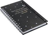 Ringband notitieboekje Peter Pauper Shoot for the Moon