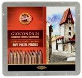 Koh i noor Gioconda Soft Pastels Pencils 24 st