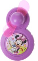Disney Minnie Mouse Mini Ventilator Paars 9 X 6 Cm