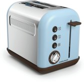 Morphy Richards Accents - 222003EE - Broodrooster 2 sleuven - Azur Blauw