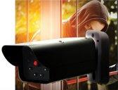 Secure@Home Dummy Camera - Set 2 stuks met Rode LED - 13x6x5cm - Zwart