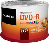 Sony recordable DVD's DVD-R 16x, 50