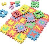 Educatief kinderspeelgoed - foam schuim puzzelmat alfabet en letters vanaf 3 jaar - 72 stuks