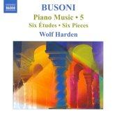 Busoni: Piano Music 5