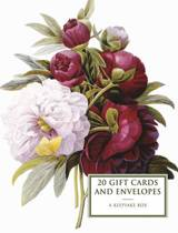 Tin Box of 20 Gift Cards and Envelopes: Peony: A Keepsake Tin Box Featuring 20 High-Quality Fine-Art Gift Cards and Envelopes