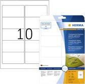 HERMA 8018 Transparant Zelfklevend printerlabel printeretiket