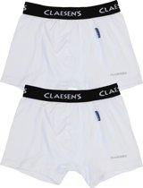 Claesen's Jongens Boxershort - White - Maat 116-122