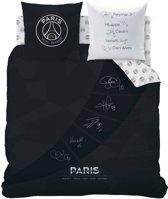 Paris Saint Germain Third - Dekbedovertrek - Tweepersoons - 200x200cm - Grijs