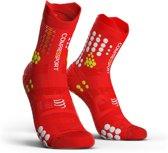 Compressport Pro Racing Socks V3.0 Trail Smart Rood TrailrunsokkenSize : 45-48