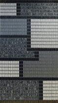Vliegengordijn Hulzen, 90x210 cm, Kant en Klaar CombiBlok Grijs