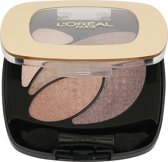 L'Oréal Paris Make-Up Designer Color Riche Les Ombres Quad - E2 Nude Lingerie - Oogschaduw