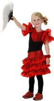 Spaanse jurk met polsbandje maat 116/128