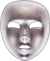 Zilverkleurig masker voor volwassenen - Verkleedmasker