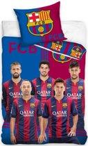 Dekbed barcelona spelers: 140x200/70x80 cm