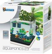 SuperFish AquaPonics Aquarium - 26x29x31 cm - 20L-  Wit
