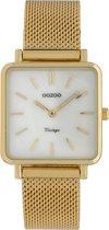 OOZOO Vintage Goudkleurig/Wit horloge  (29 mm) - Goudkleurig