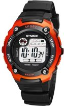 Sportief Kinderhorloge – Digital Kids Watch – Oranje