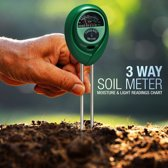 PH Grond Meter | Multifunctionele 3in1 pH grond meter