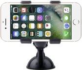 Shop4 - iPhone 7 Autohouder Dashboardhouder Klem Zwart