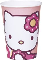 Hello Kitty Bamboo kartonnen wegwerpbekers