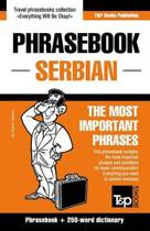English-Serbian Phrasebook and 250-Word Mini Dictionary