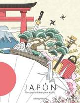 Jap n Libro Para Colorear Para Adultos 1