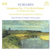Scriabin: Piano Transcriptions / Prunyi, Falvai