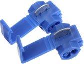 Draad Connectors Aftakklem Blauw - 1.0-2.5 mm2 - 100 stuks