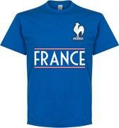 Frankrijk Team T-Shirt - Blauw - XL