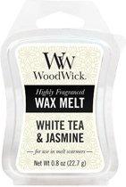 WoodWick Mini Wax White Tea & Jasmine (3 stuks)