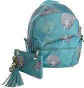 Jessidress Handtasje Meisjes Handtas met portemonnee - Turquoise