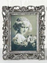 Baroque - Zilver - 13x18cm - horizontaal - verticaal - A
