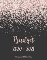 Budget Planner and Organizer 2020-2021: 2 year Daily Weekly & Monthly Calendar Expense Tracker Organizer For Budget Planner And Financial Planner Work