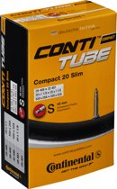 Continental Compact 20 Slim - Binnenband Fiets - Frans Ventiel - 42 mm - 20 x 1 1/8 - 1 1/4